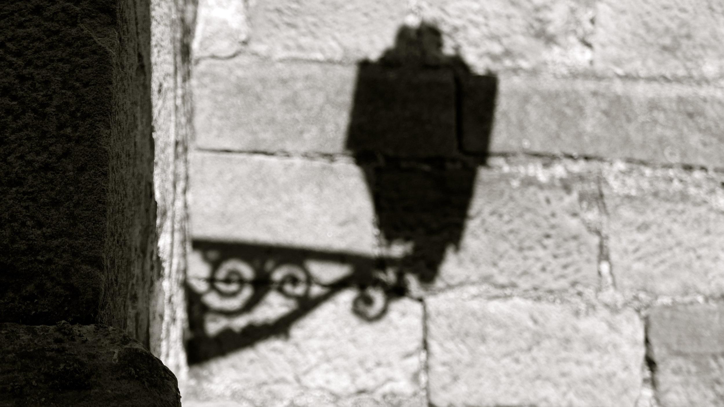 Sombra farola El Royo