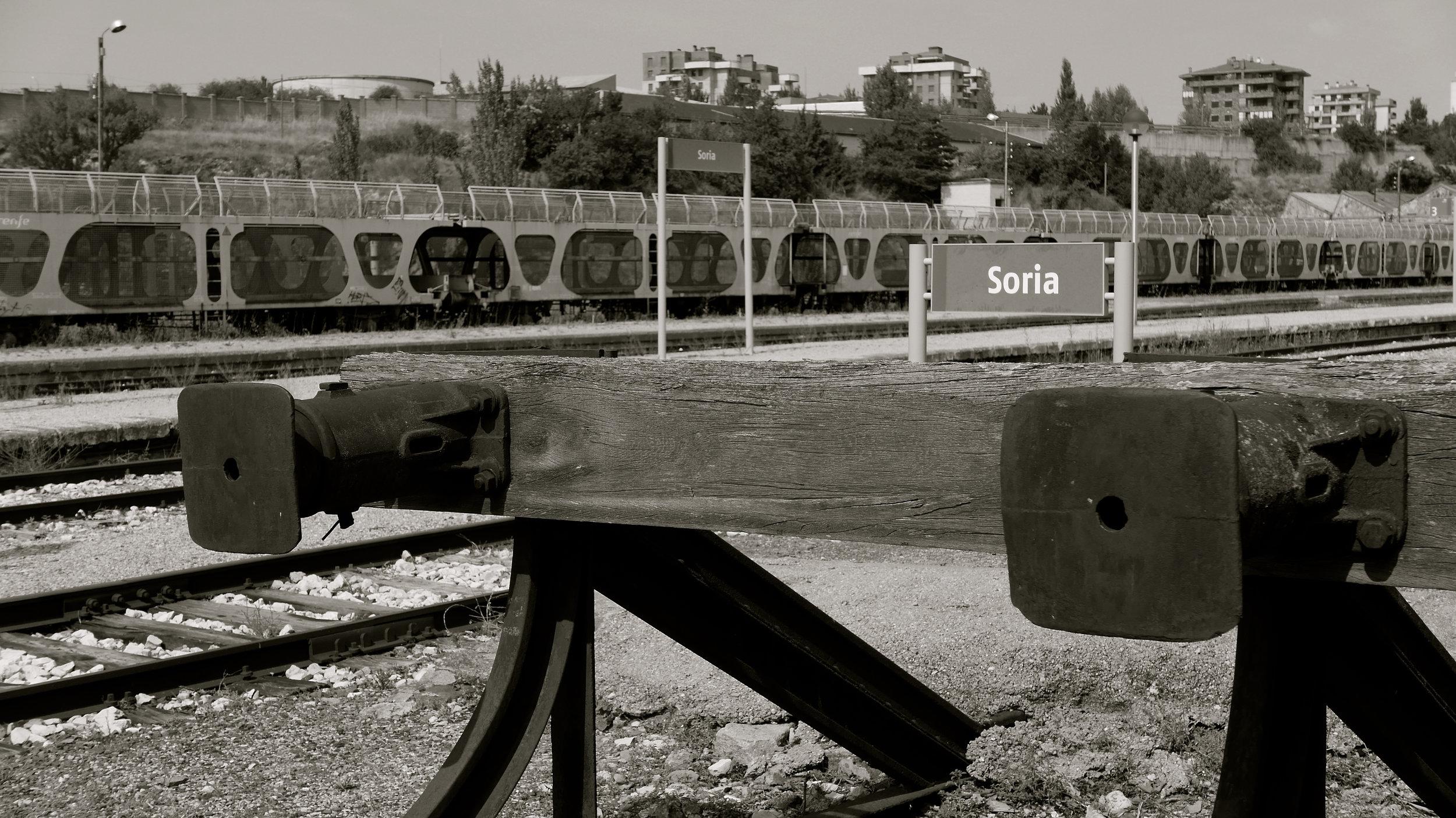 Topes tren Soria