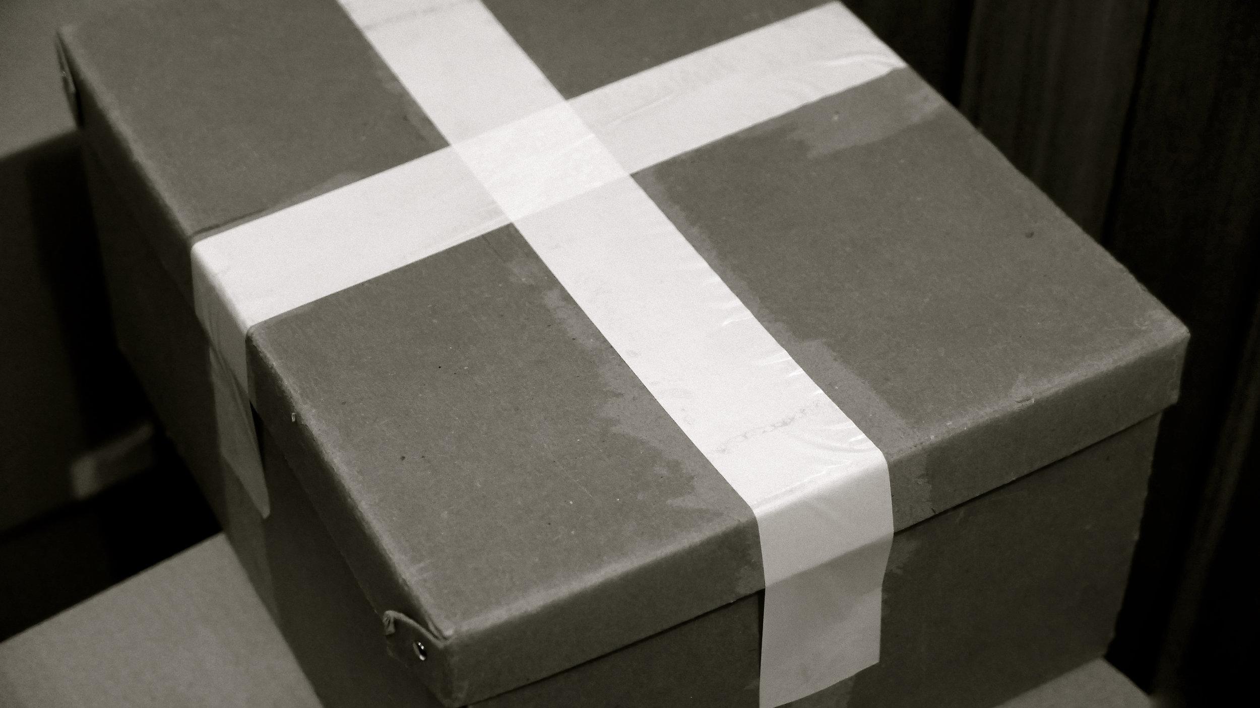 Vía crucis 220 cajas SalvaCajas de libros de S.