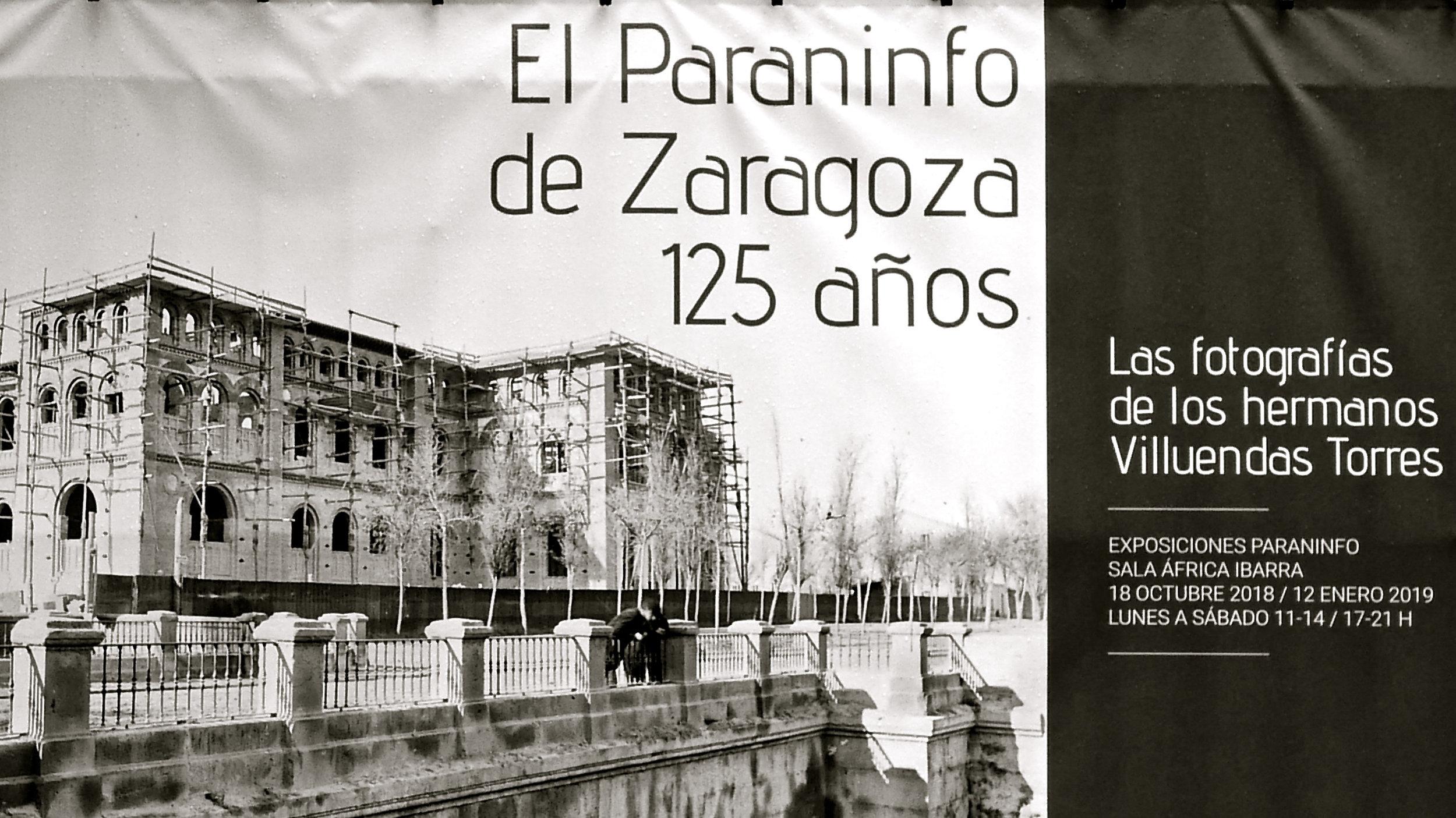 Cartel El Paraninfo 125 años