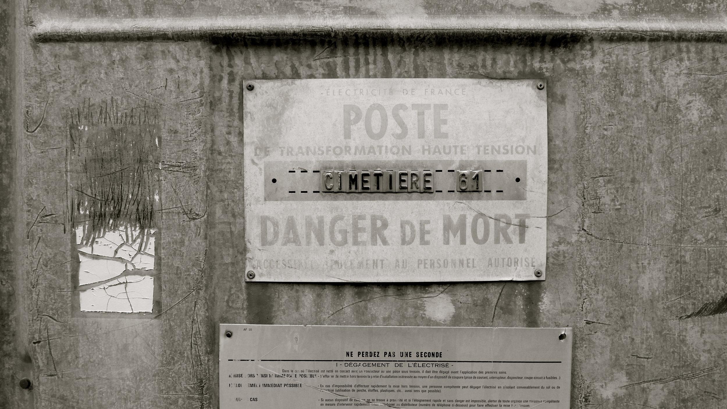 Danger de mort - 1
