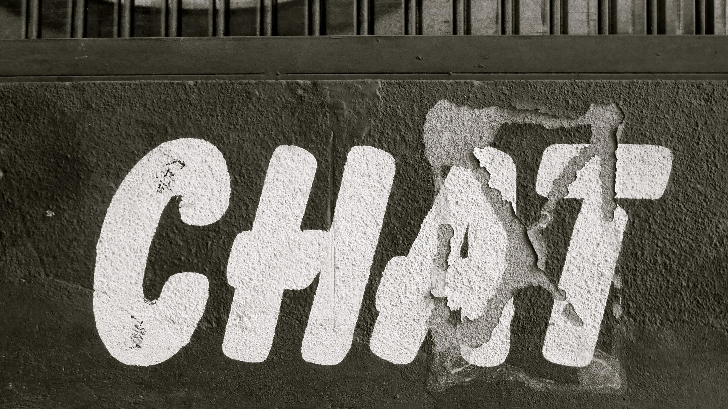 Chat rótulo