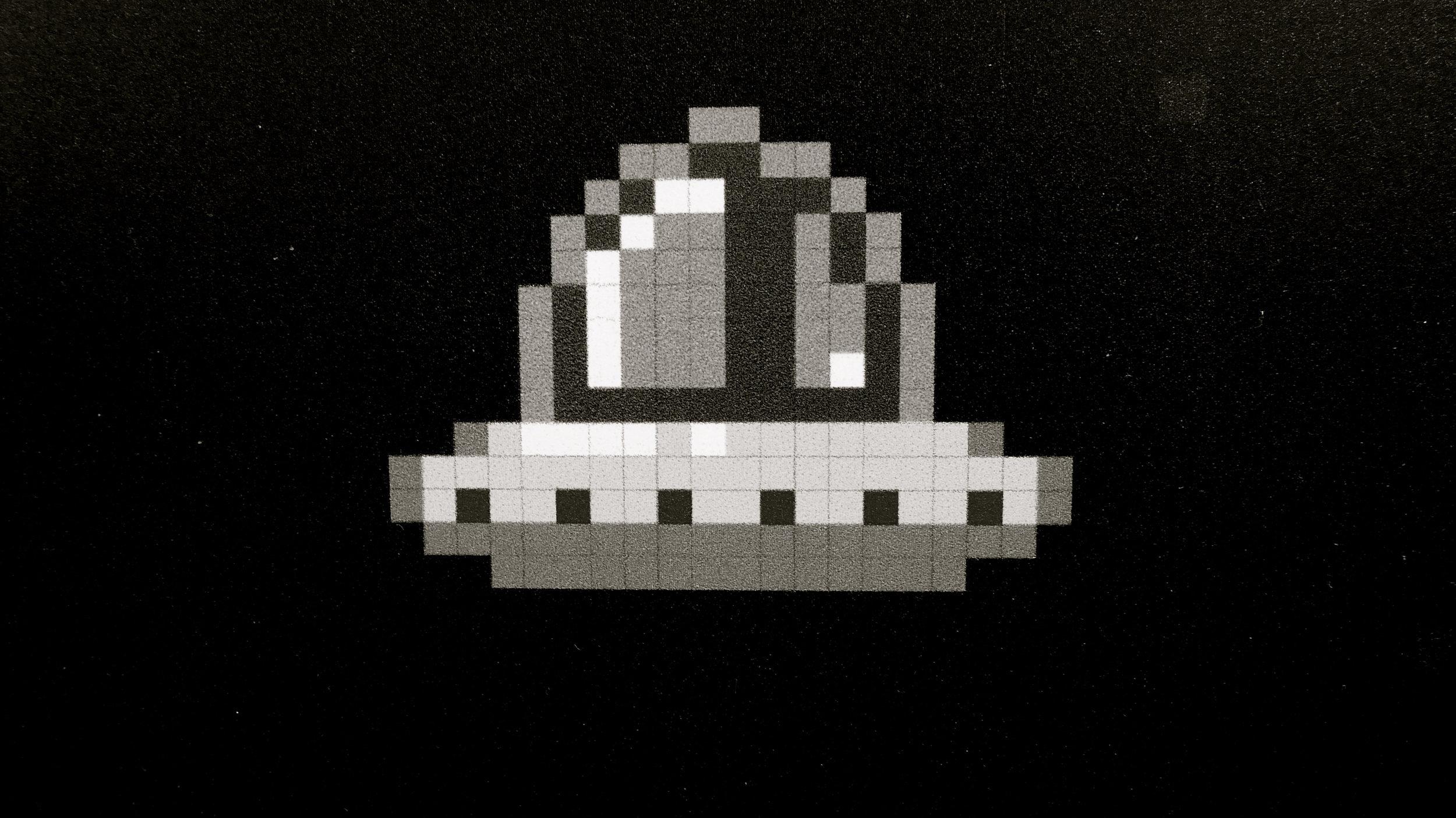 Pixel Art Ovnis - 3