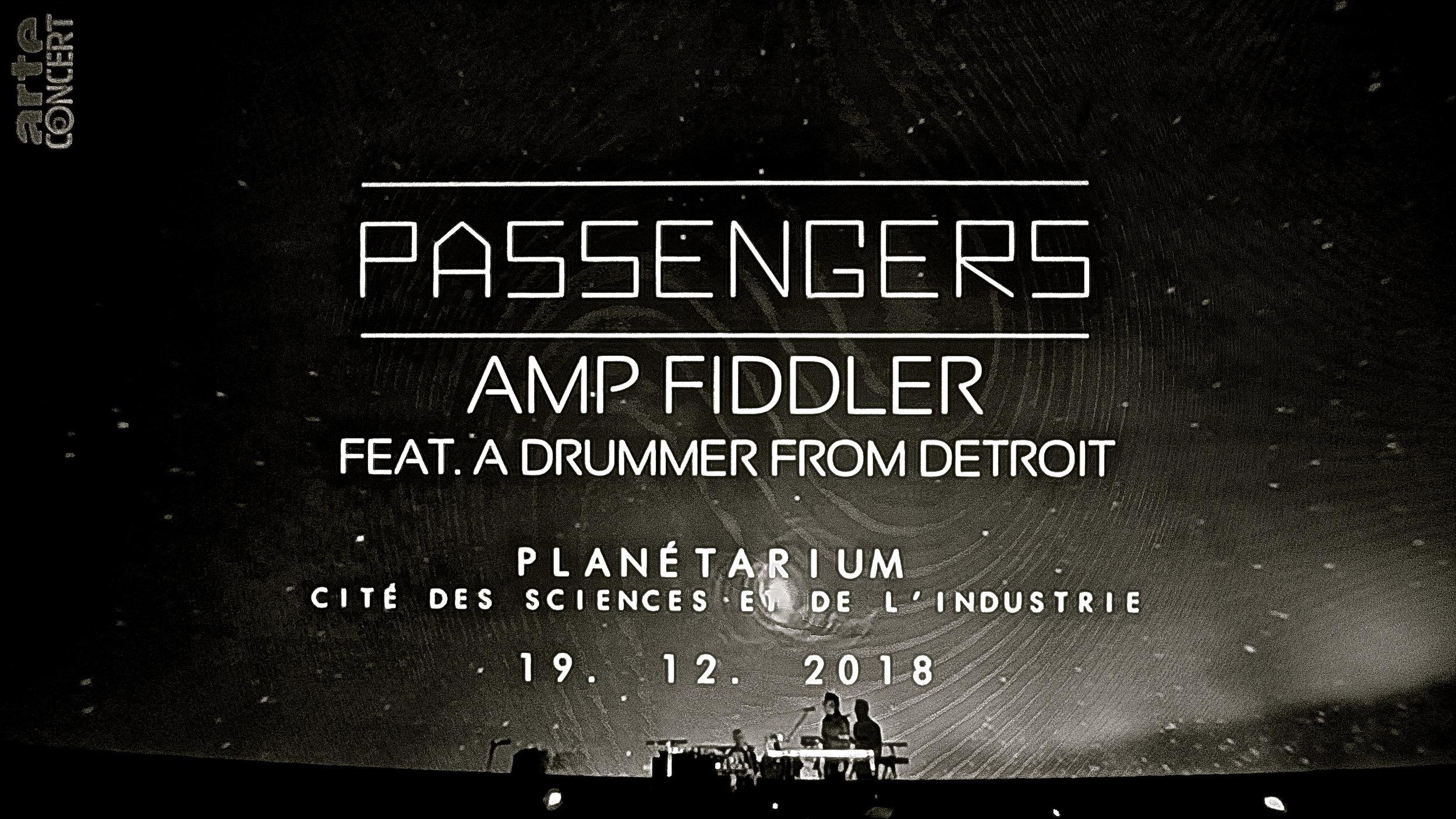 Passengers Amp Fiddler Feat. A Drummer From Detroit - 2