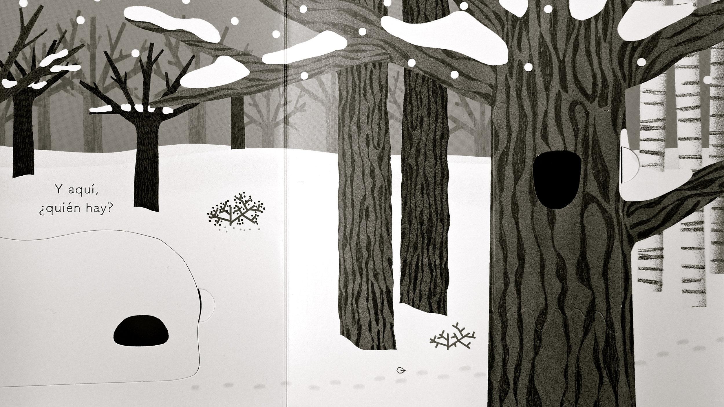 ¿Quién se esconde en el bosque? interior
