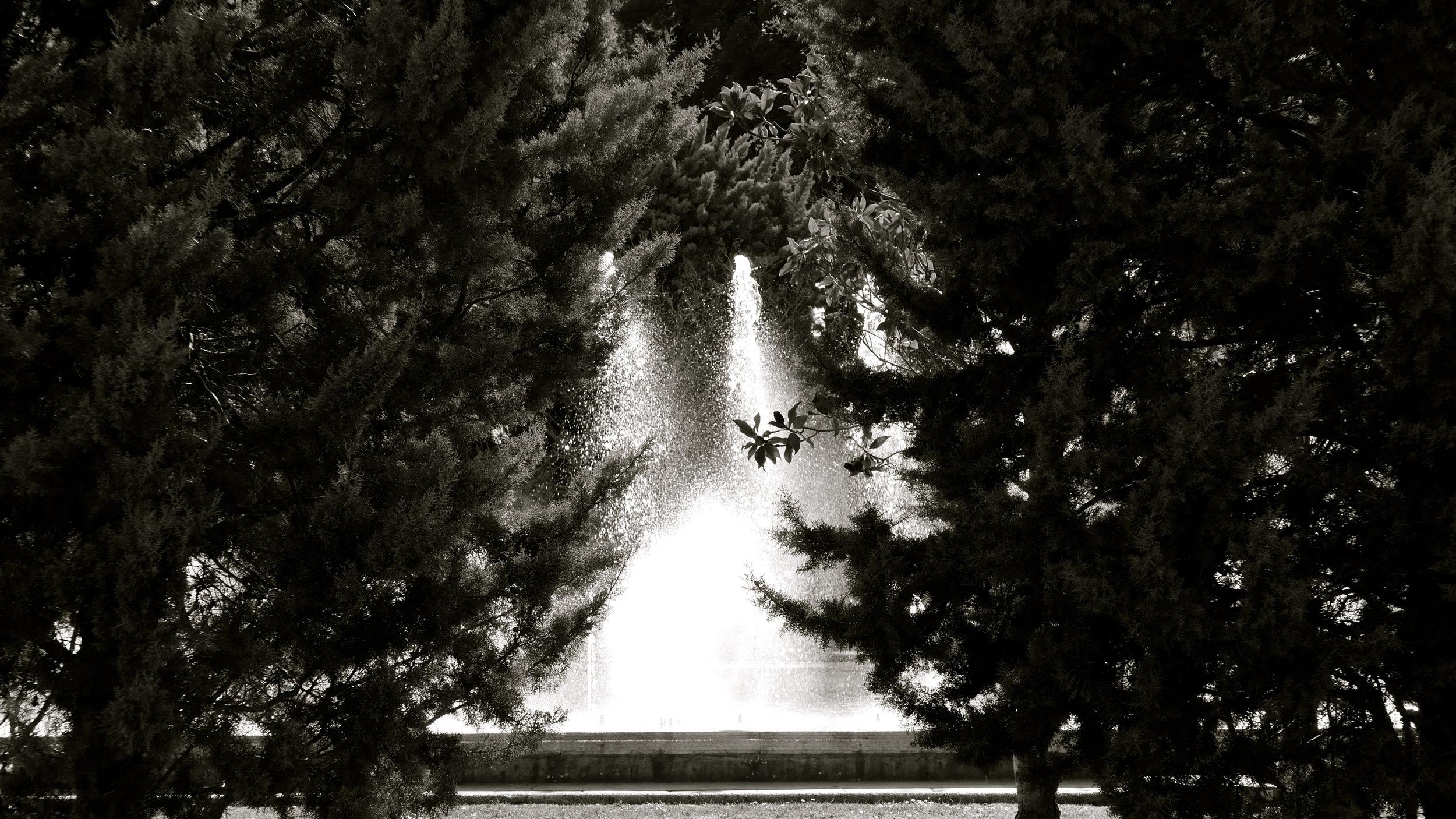 Paseo por las fuentes. Parque Grande - 1