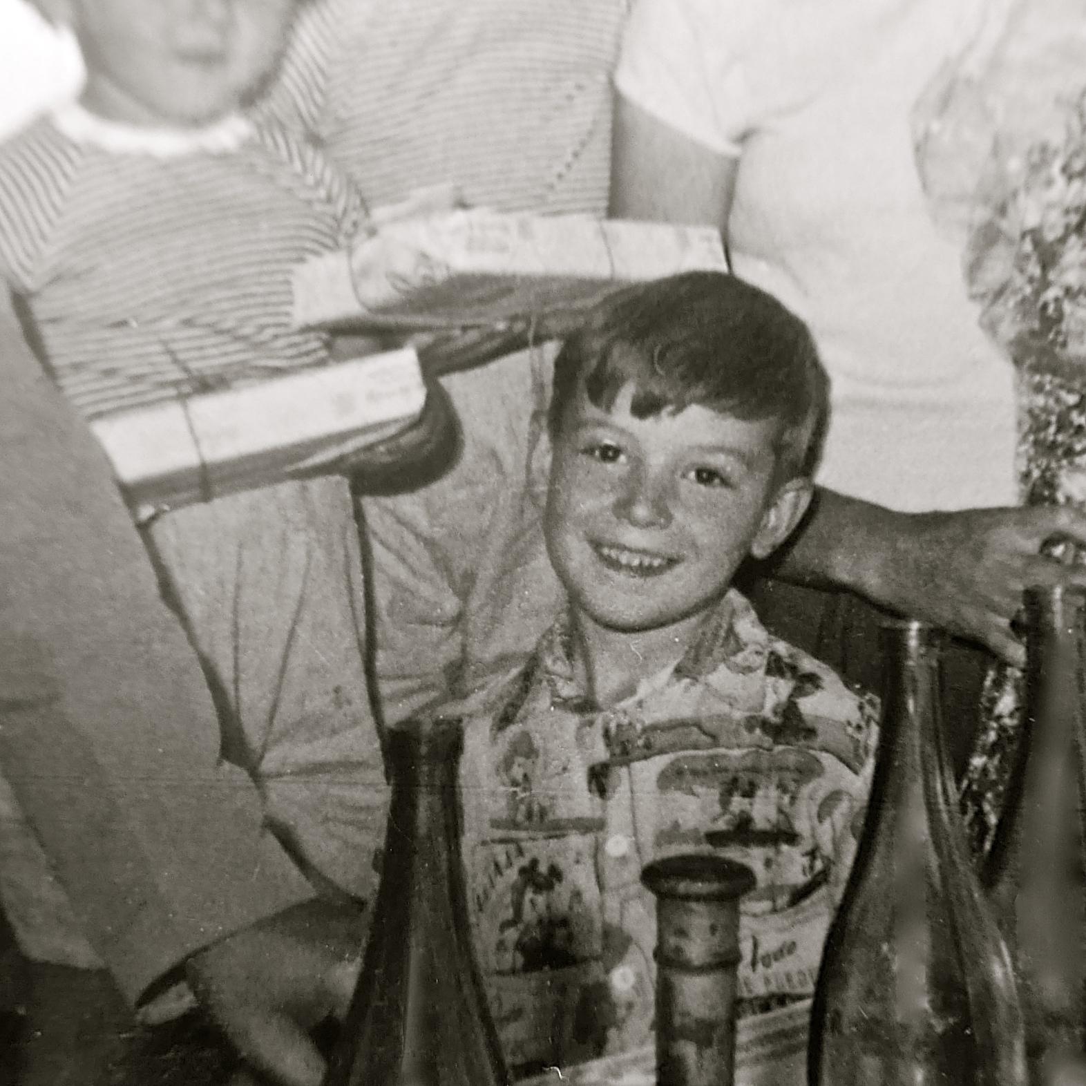 Vicente en Sobrón 1955
