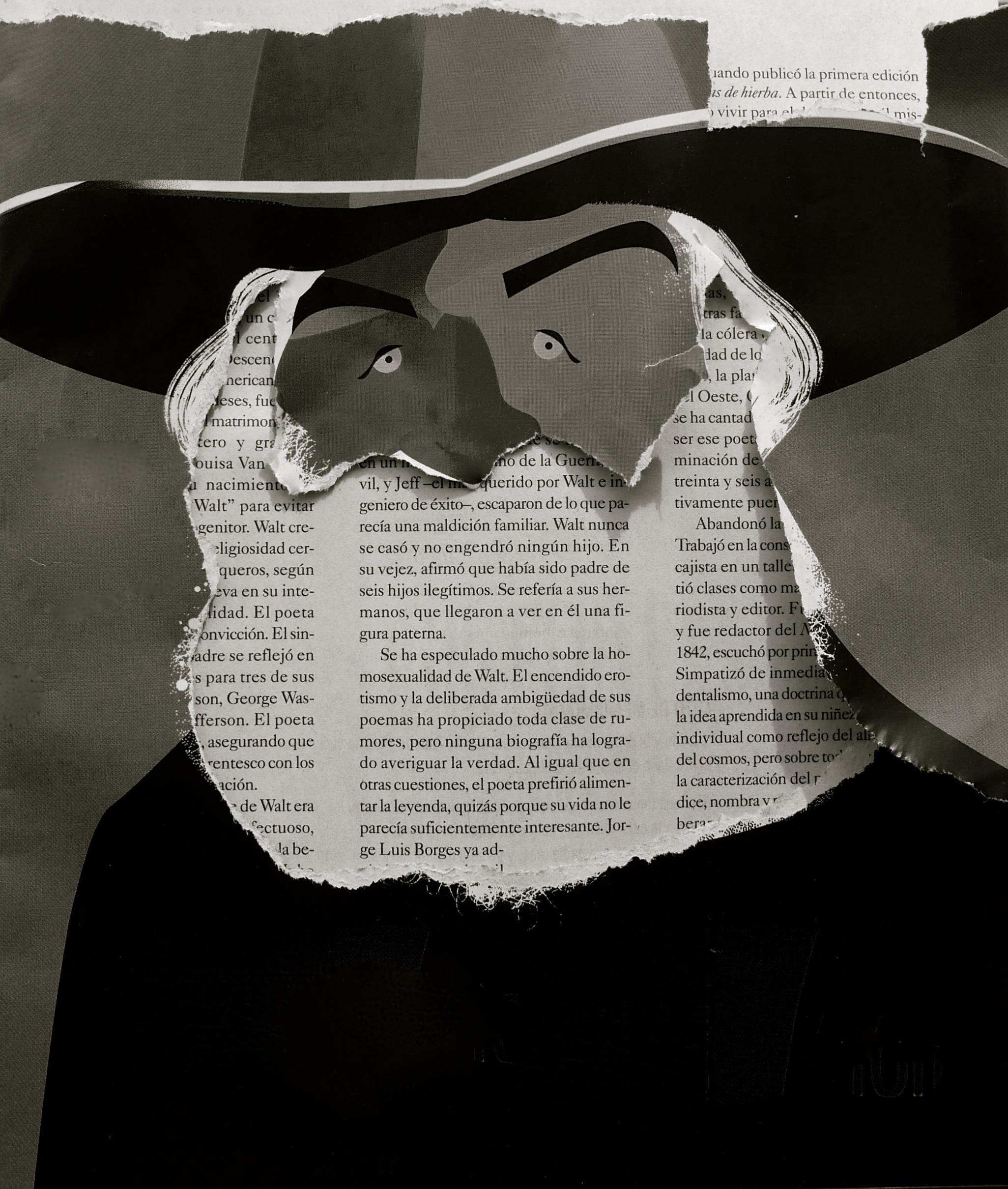 Barbarismo Walt Whitman Jorge Arévalo