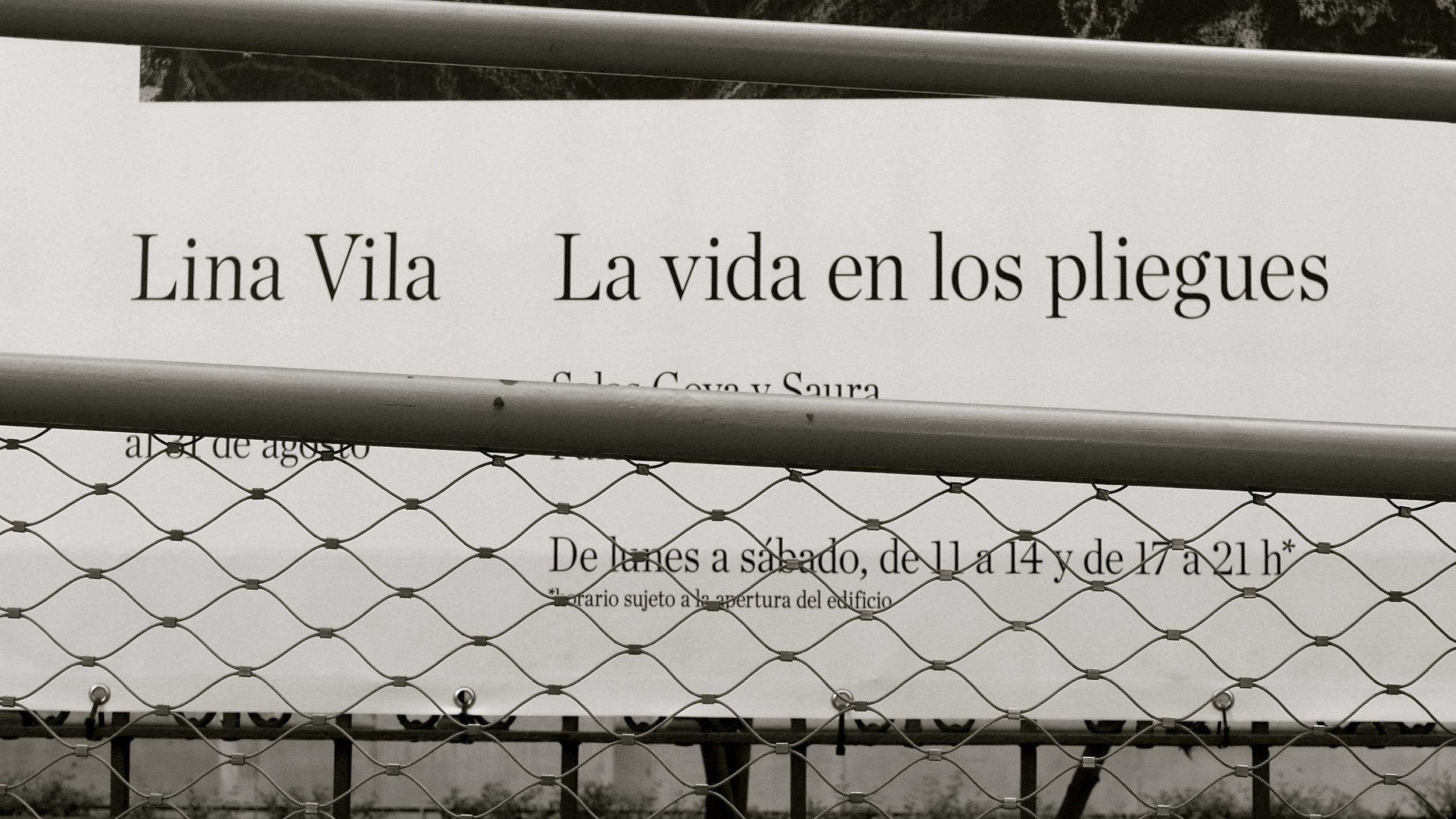 Lina Vila La vida en los pliegues
