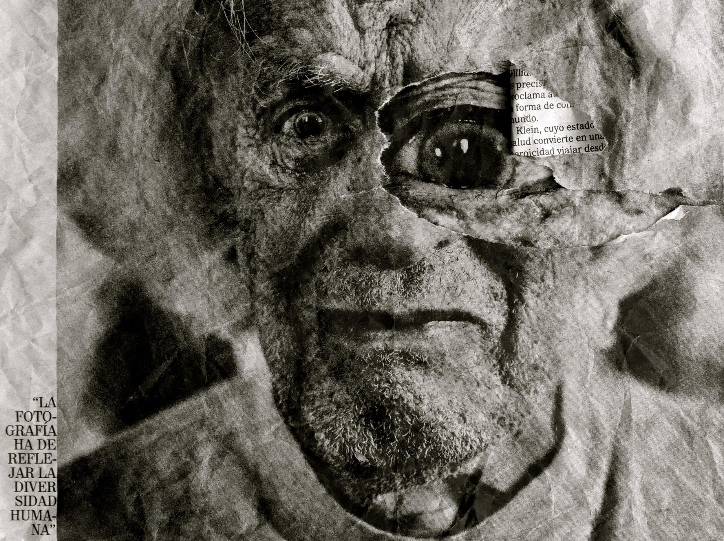 Carlos García Pozo retrato de William Klein - 5