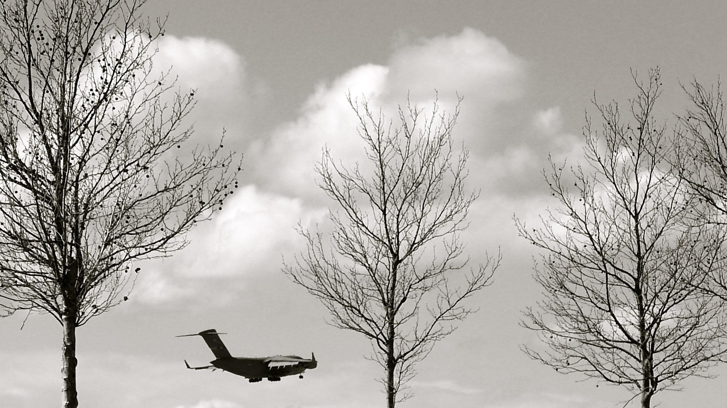 Avión aterrizaje