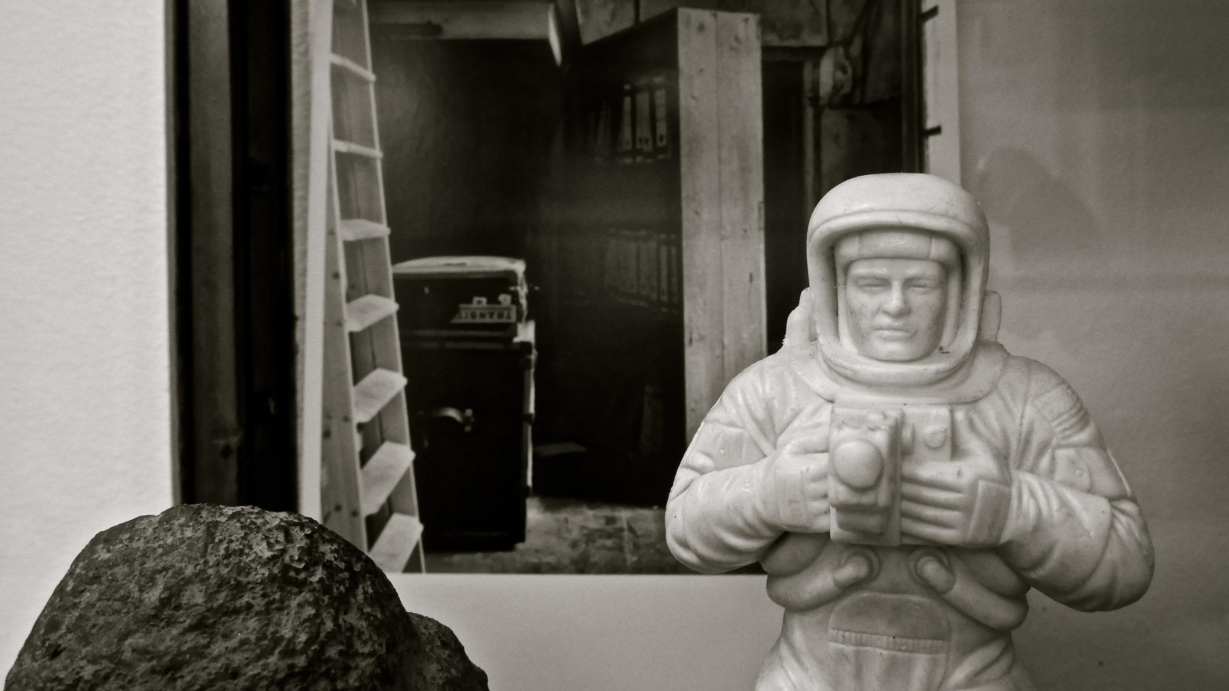 Astronauta Objeto de la memoria Vicente García Plana - 11