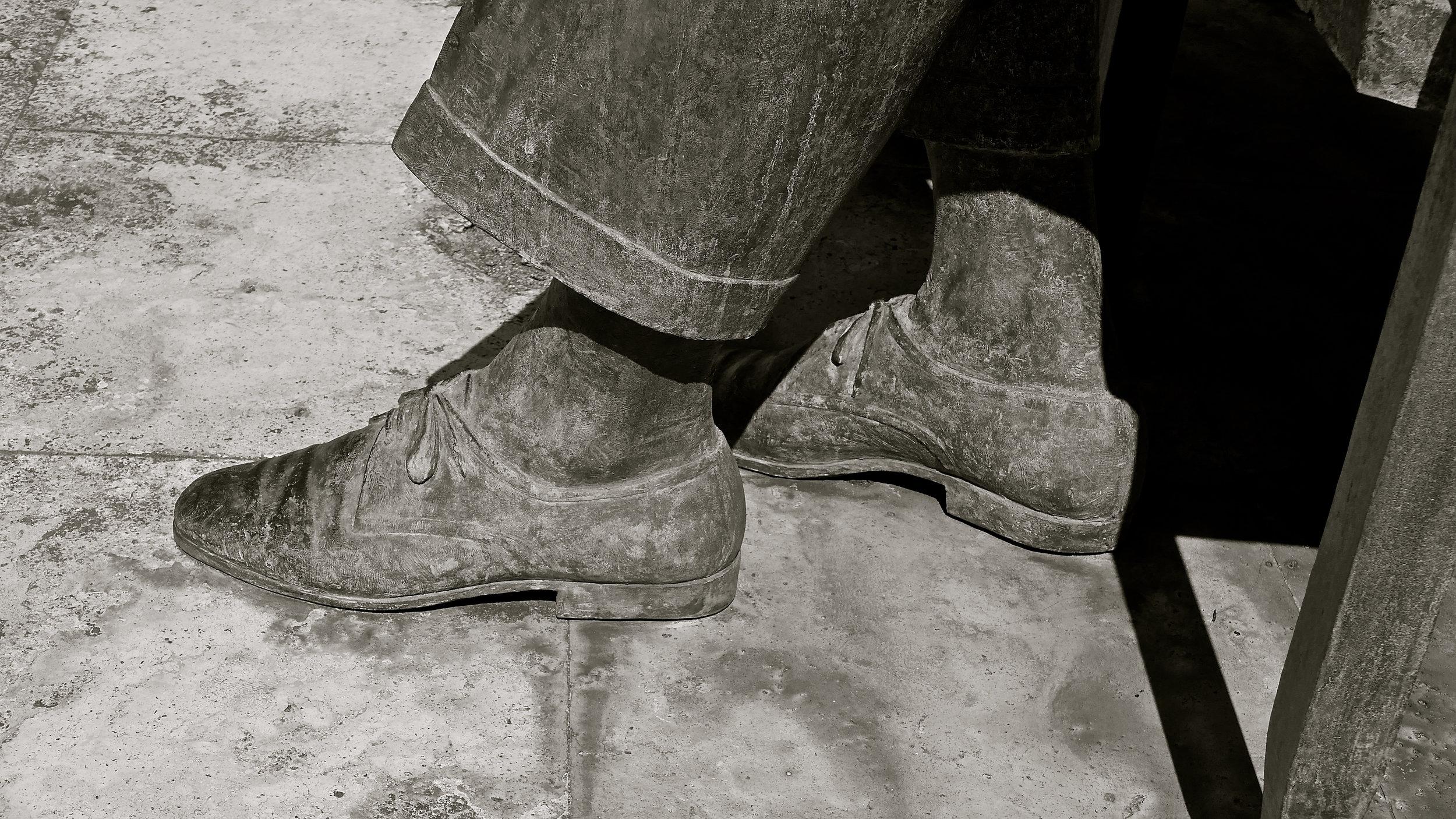 Zapatos reales