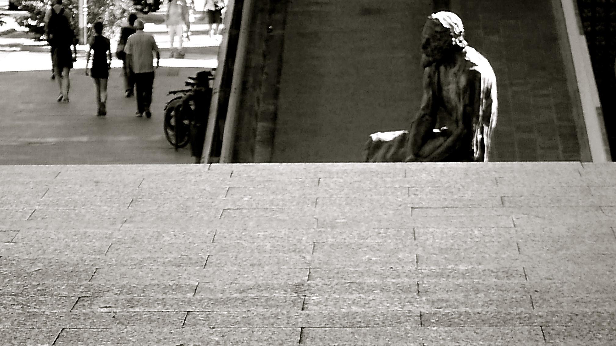 Escalera/Escultura Servet