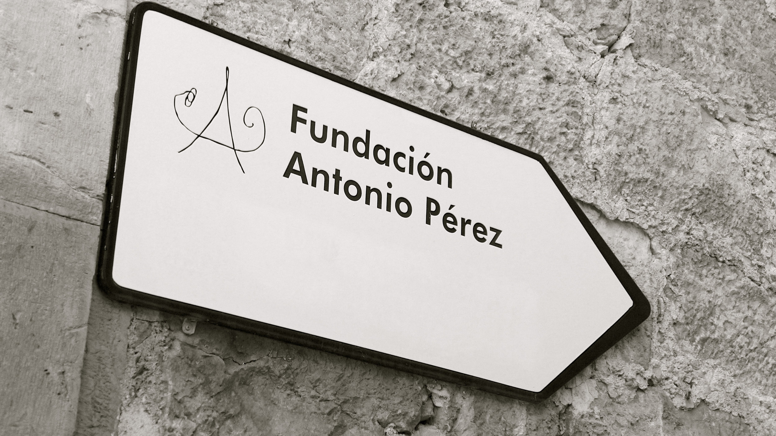 Señal Fundación Antonio Pérez
