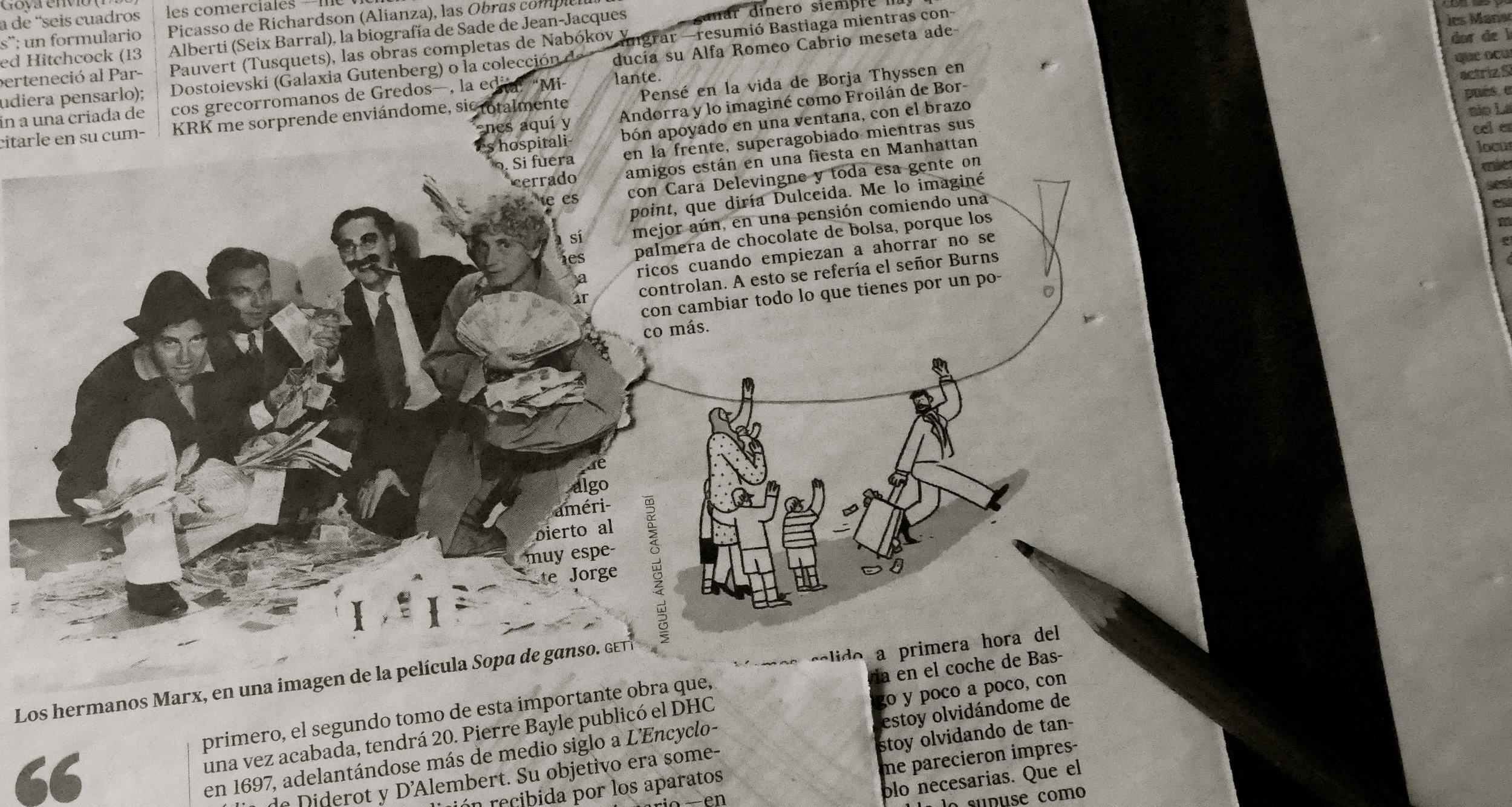 Páginas encontradas . El koan del señor Burns y los Marx
