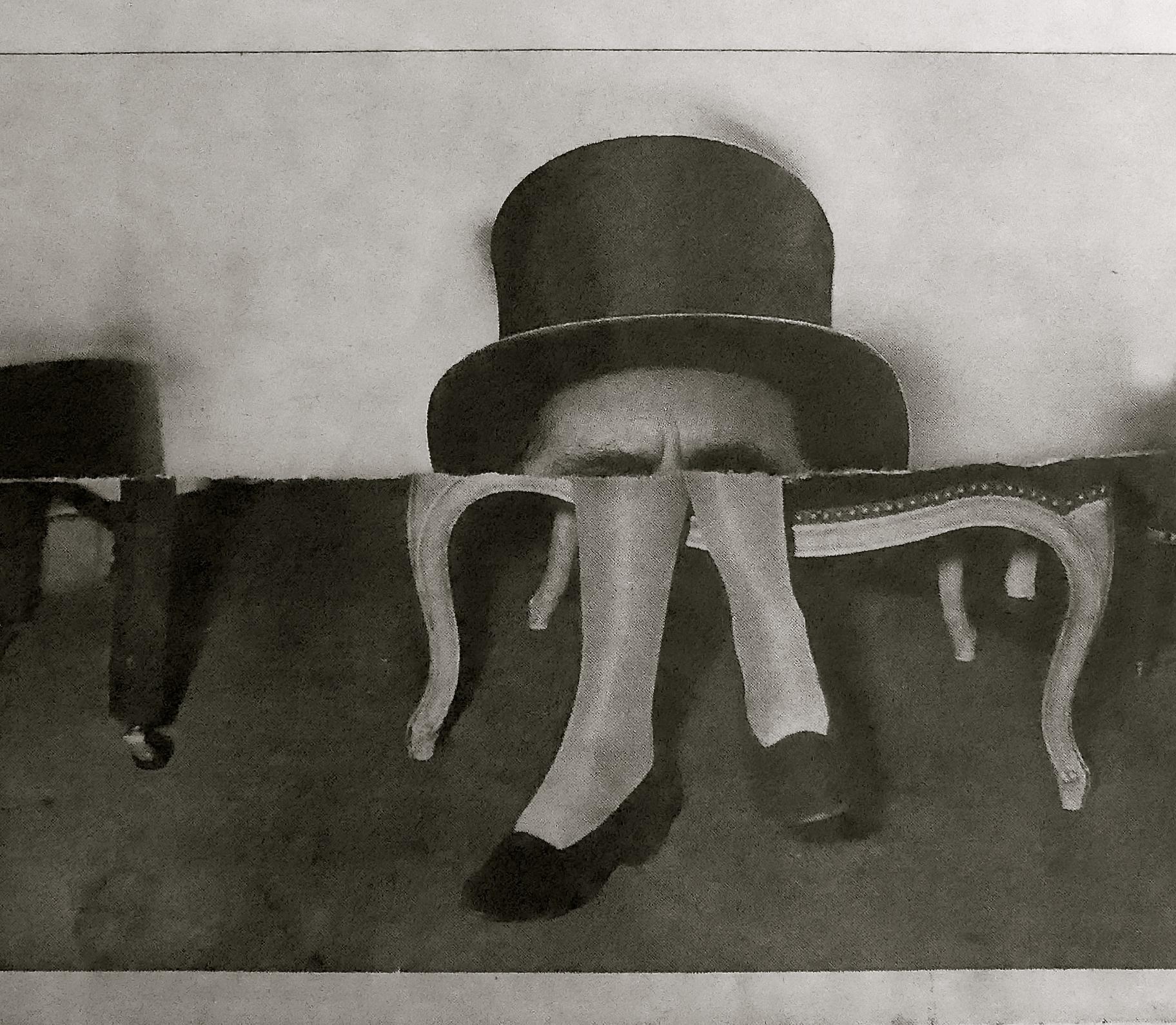 Dorothy Parker de copas Collage Cryp.