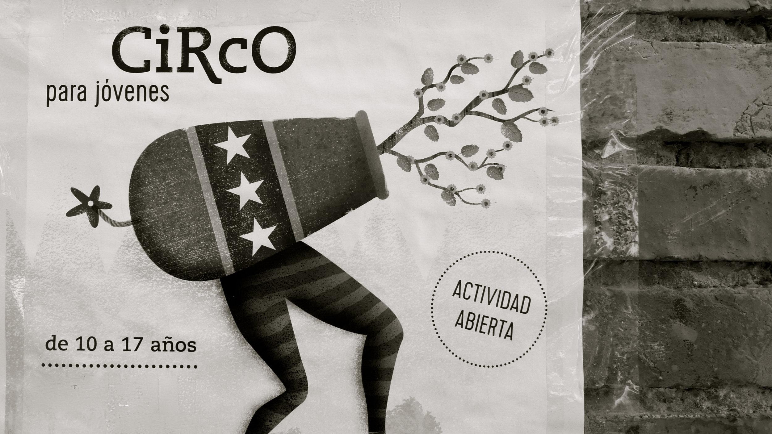 Circo para Jóvenes cartel