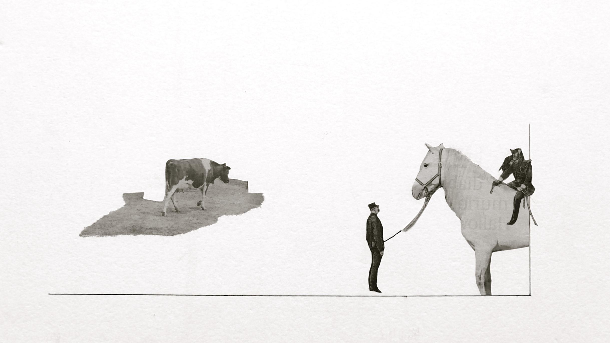 Metal lenguaje. Un collage de Colectivo rasga y pega