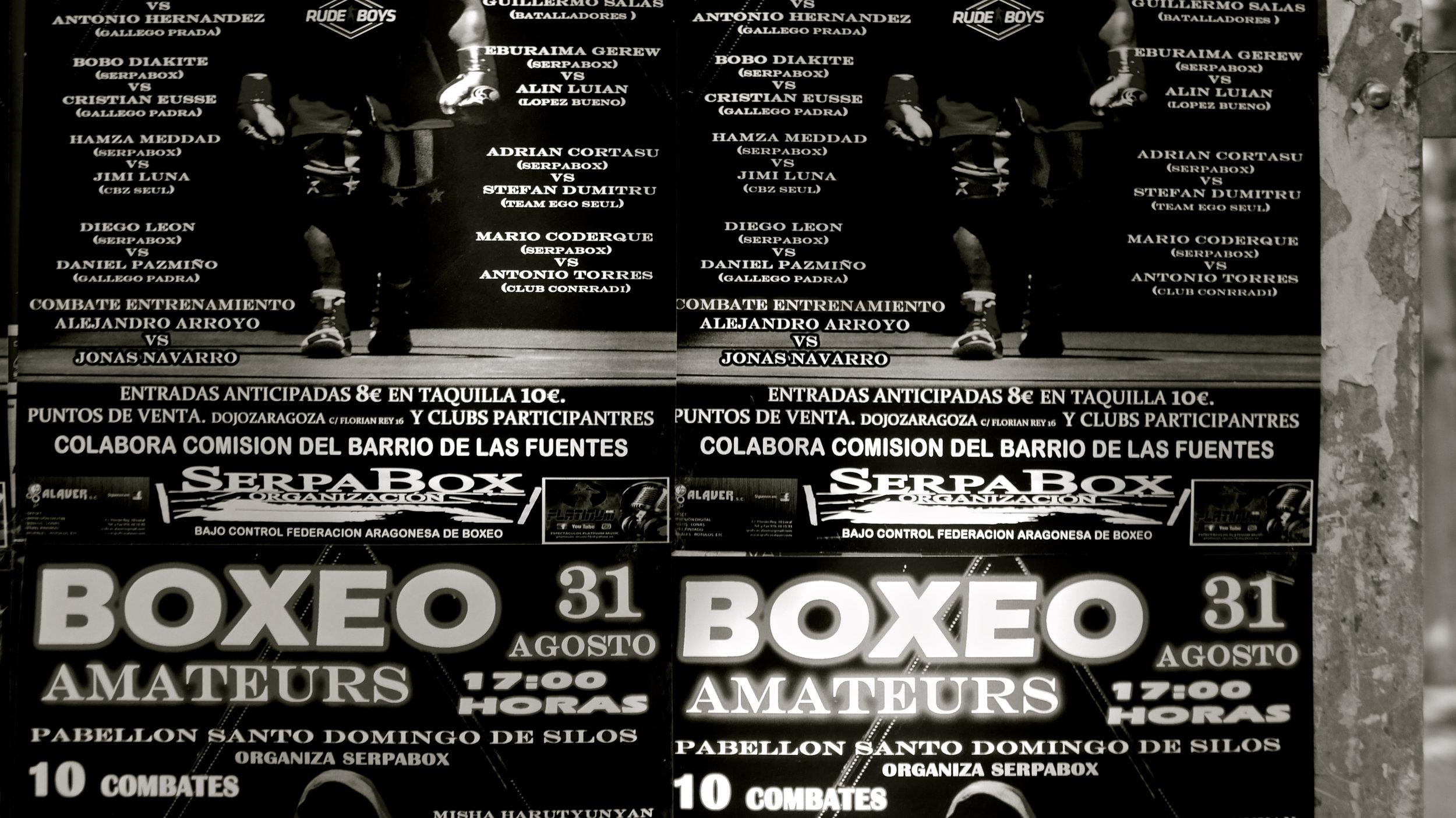 Boxeo Amateurs cartel