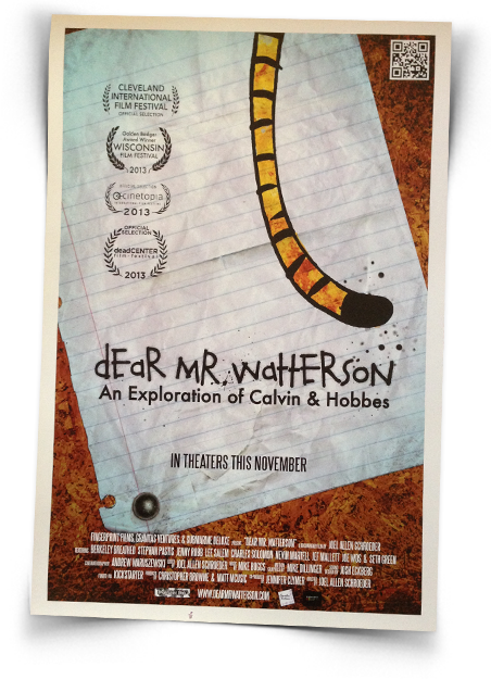 Official poster of - Dear Mr. Watterson