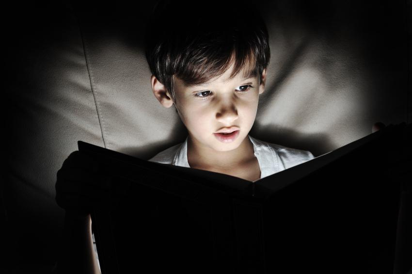 Child Reading in Dim Light.jpg