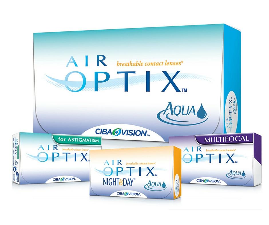 Photo: Air Optix Family of Contact Lenses