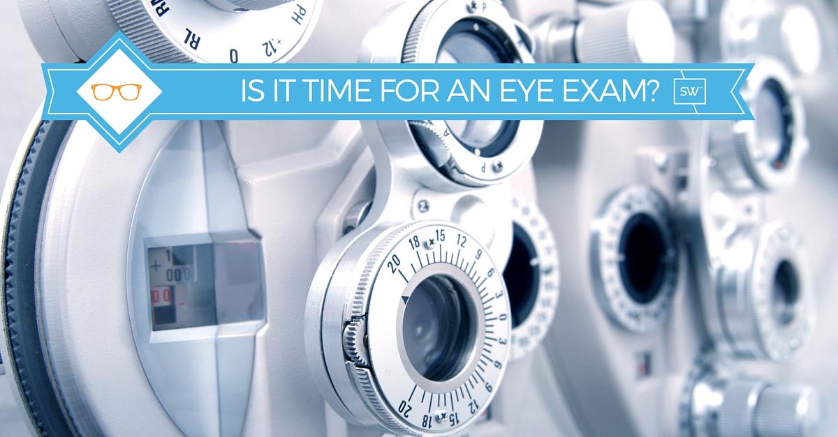 Image: Phoropter for checking eyeglass prescriptions