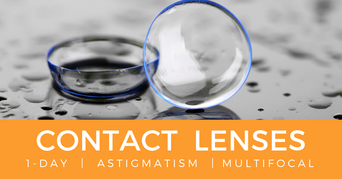 Contact lenses edmonton | 1-DAY | ASTIGMATISM | mULTIFOCAL