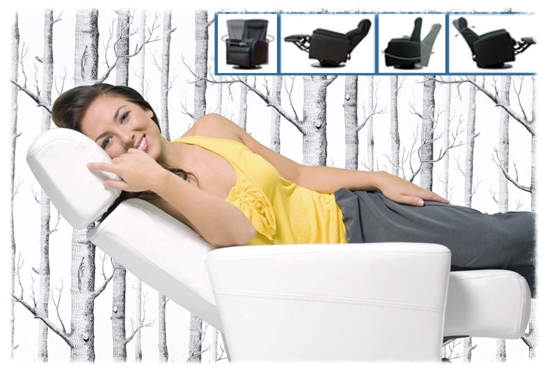 Smaller scale ergonomic recliners