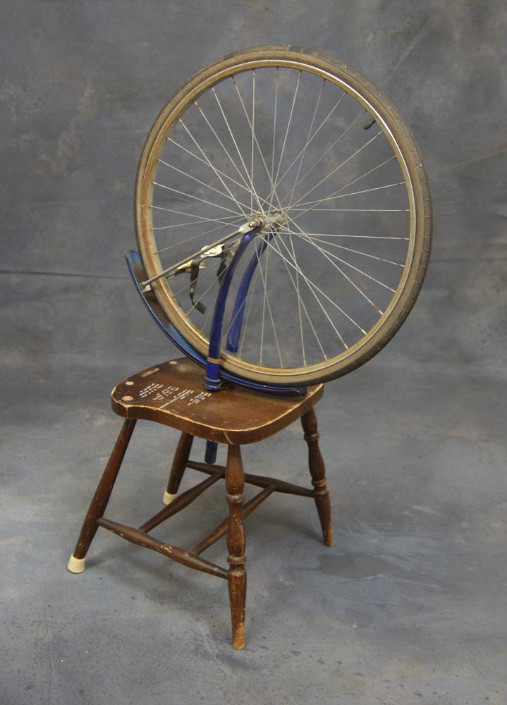The Duchamp, a readymade instrument by John Kieltyka.