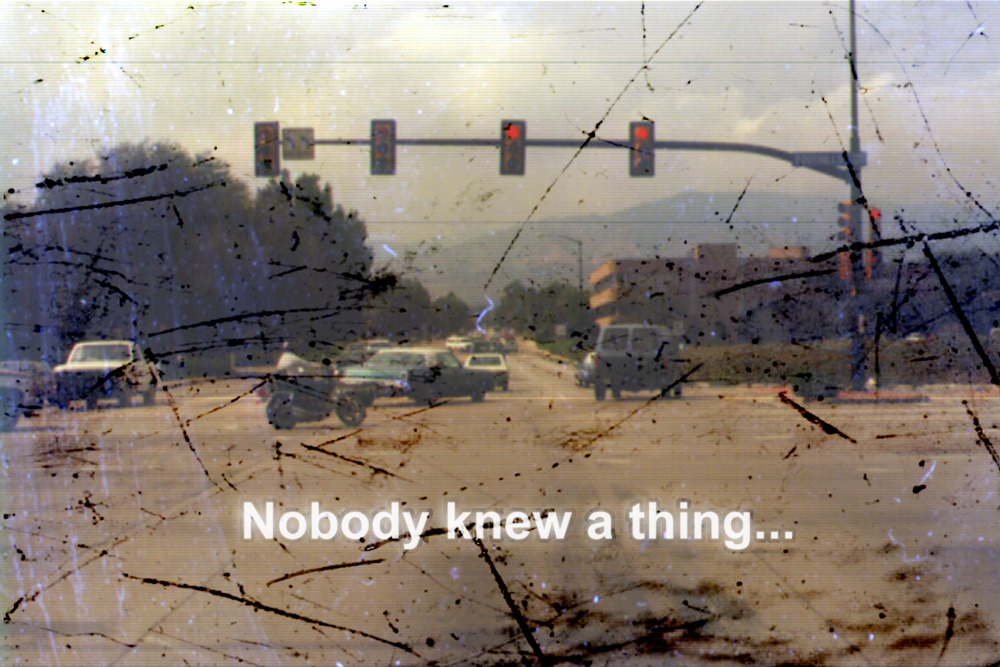 Nobody Knew A Thing