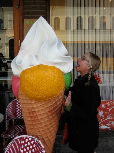 Cone crazy in Sweden