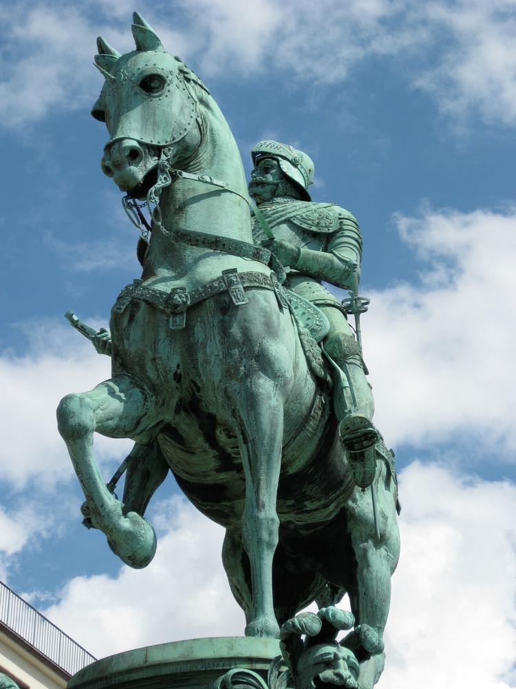 King Charles IX of Sweden by John Börjeson