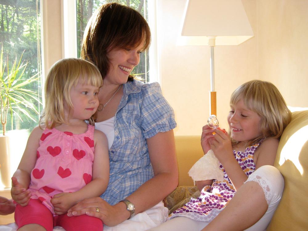 Klara, Johanna and Magdalena