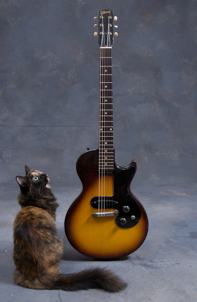 Isabelle and 1960 Gibson Melody Maker