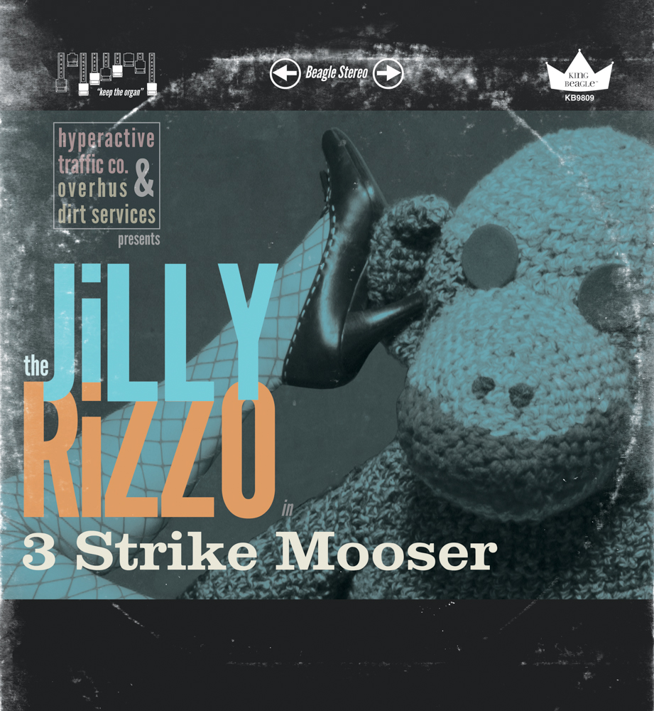 "3 Strike Mooser  by The Jilly Rizzo ,  12"" vinyl record."