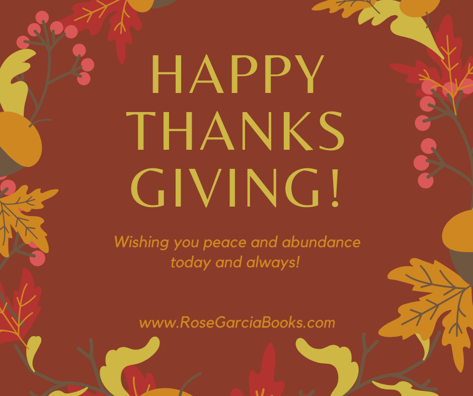 Happy Thanksgiving And Black Friday Deals Freebies And Giveaways Rose Garcia Books