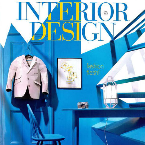 "Interior Design Magazine  ""The Mile High Clubhouse"" April 2012 New York, NY"