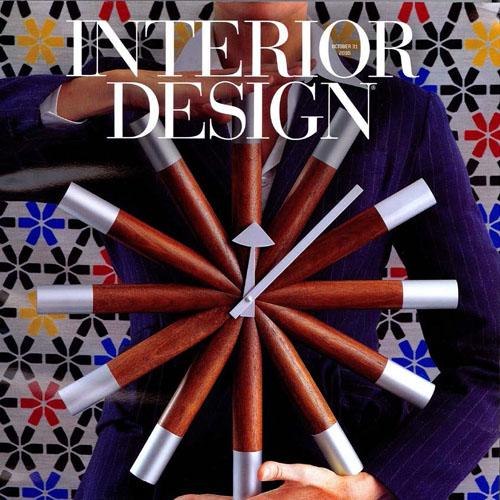 "Interior Design Magazine  ""Ticktock, Ticktock"" 2010 New York"