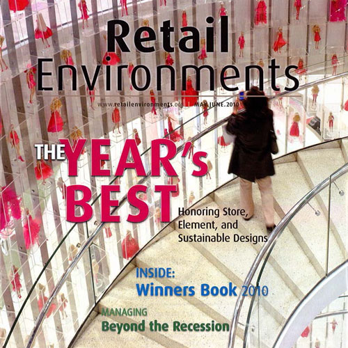 "Retail Environments  ""Store of the Year Grand Prize: Barbie Shanghai""  2010 New York"