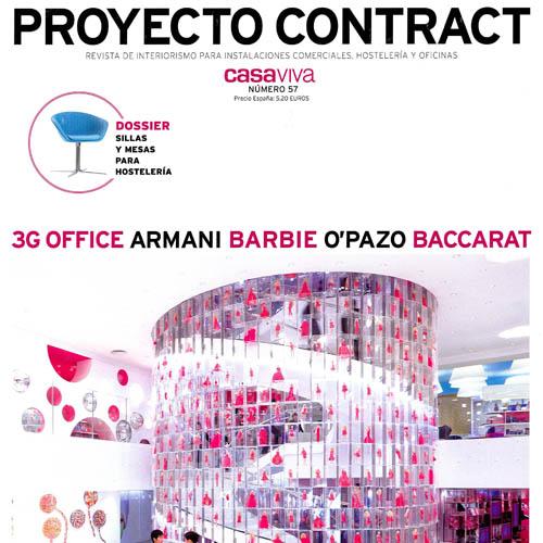 """Proyecto Contract  """"Le Mansion de Barbie"""" No. 57 2009"""