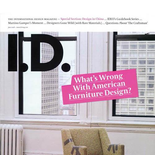 "I.D.   Magazine  ""Blonde Ambition"" 2008"