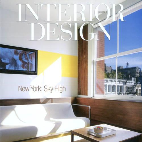 """Interior Design Magazine  """"View Finder"""" September 2005 New York"""