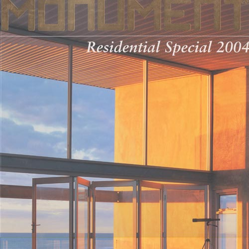 """Monument  """"Double Agent"""" Vol. 63 (Residential Special) 2004"""