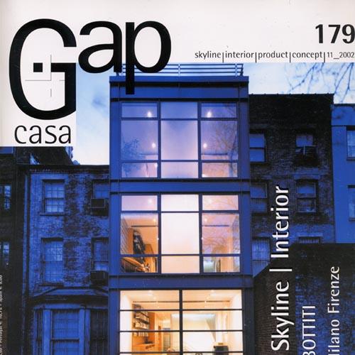 "Gap Casa  ""Totem Bar & Stretch Gym"" 2002"
