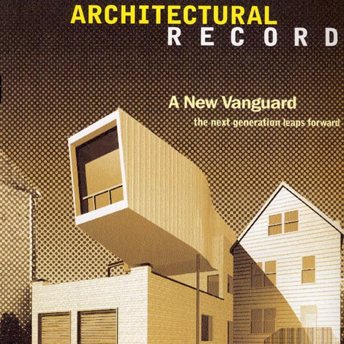 """Architectural Record  """"A New Vanguard: The Next Generation Leaps Forward"""" 2000"""
