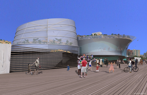 Shark Exhibit Building — SLADE ARCHITECTURE
