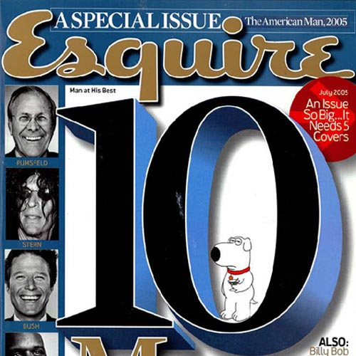 """Esquire  """"If they build it..."""" July 2005  New York"""