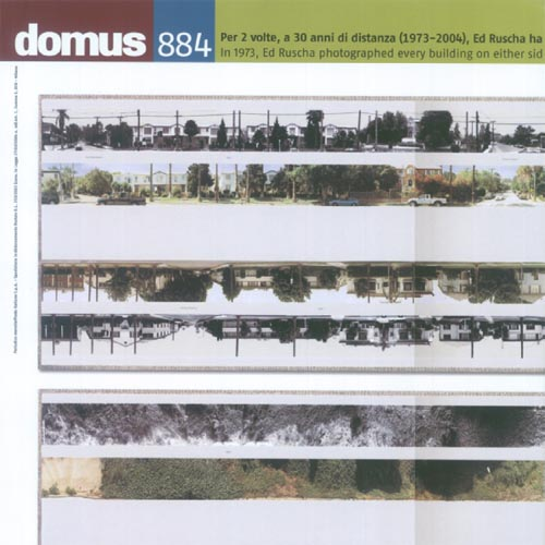 "Domus  ""Cartoon Modernism"" September 2005 Italy"